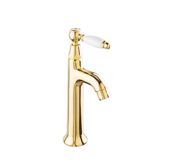 BT76 Pair of pillar taps solid brass