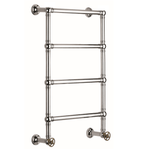 BTR11 4 bars plumbed in heated towel rail