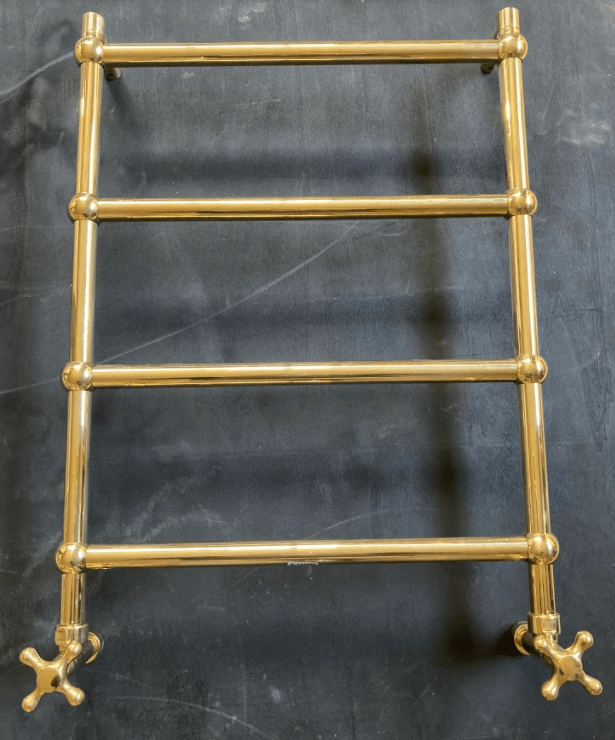 BTR15 Plumbed in traditional heated towel rail