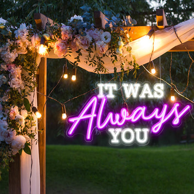 wedding signs hire
