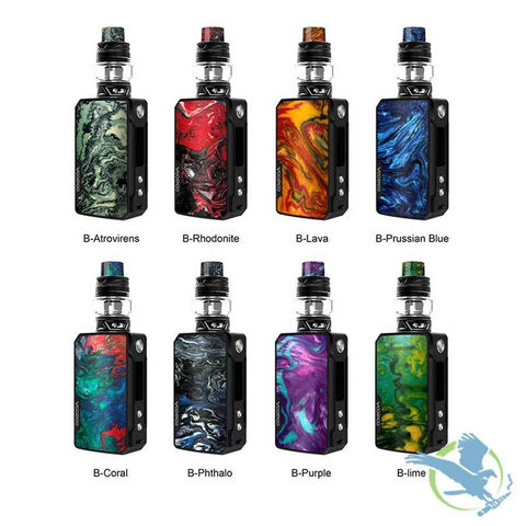VOOPOO DRAG MINI 4400MAH 117W RESIN EDITION STARTER KIT WITH 5ML UFORCE T2 TANK