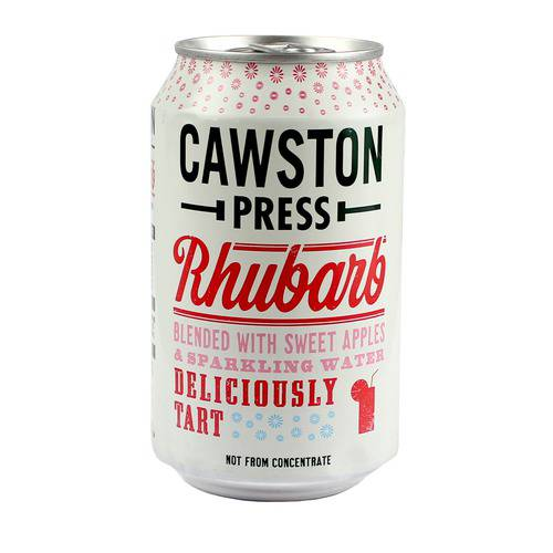 Cawston Press Rhubarb & Apple 330ml