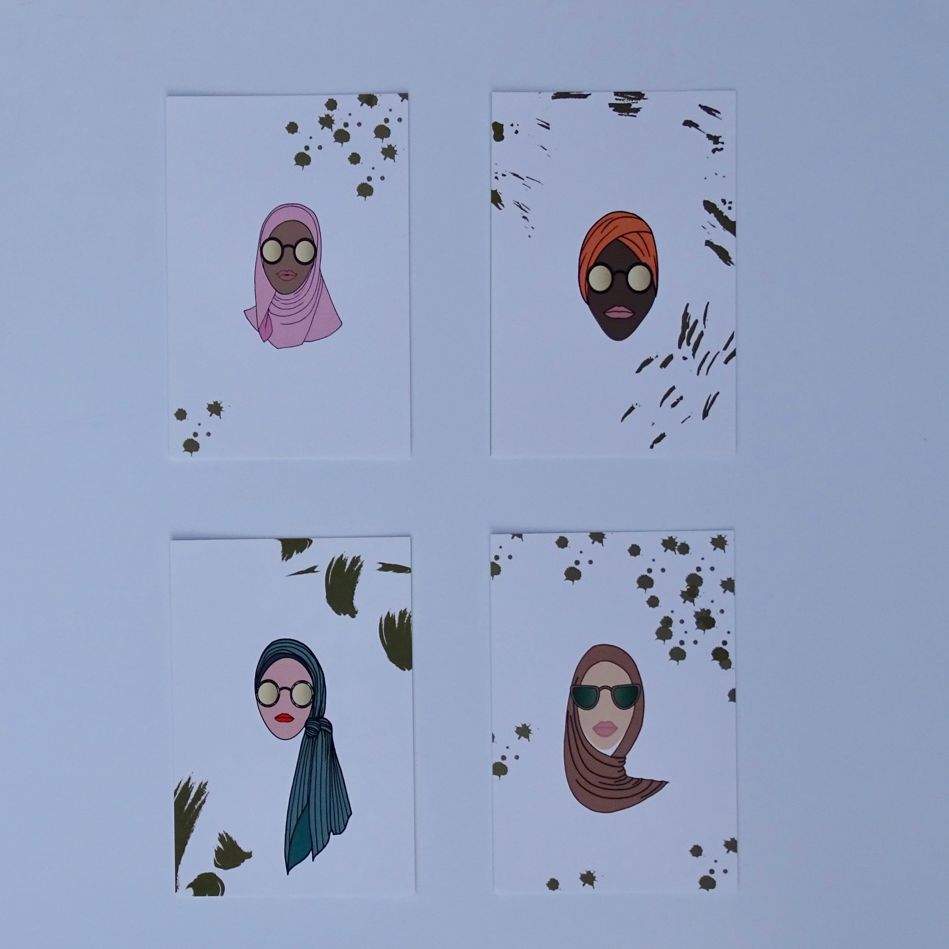 Made in Dubai - Pack of 4 Postcards