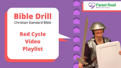 CSB Bible Drill Red Cycle Video Playlist
