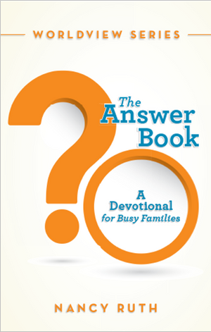 The Answer Book: A Devotional for Busy Families (while supplies last)