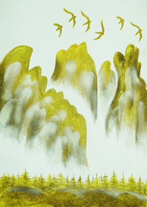 Golden Mountain 金山图