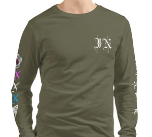 Army Green Logo - Long Sleeve Tee