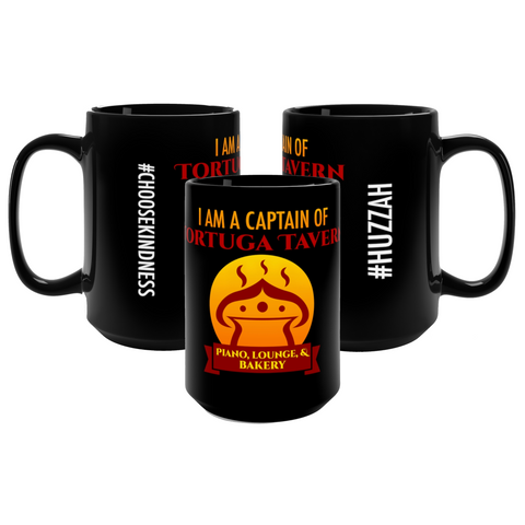 I Am a Captain of Tortuga Tavern Glossy Mug