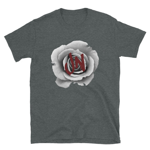 Rose T-Shirt - Charcoal Grey