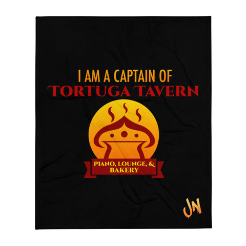 Captain of Tortuga Tavern - Soft Blanket