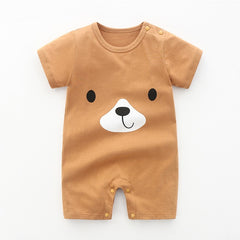 Baby's Jumpsuit New Born Baby Cartoon Rompers