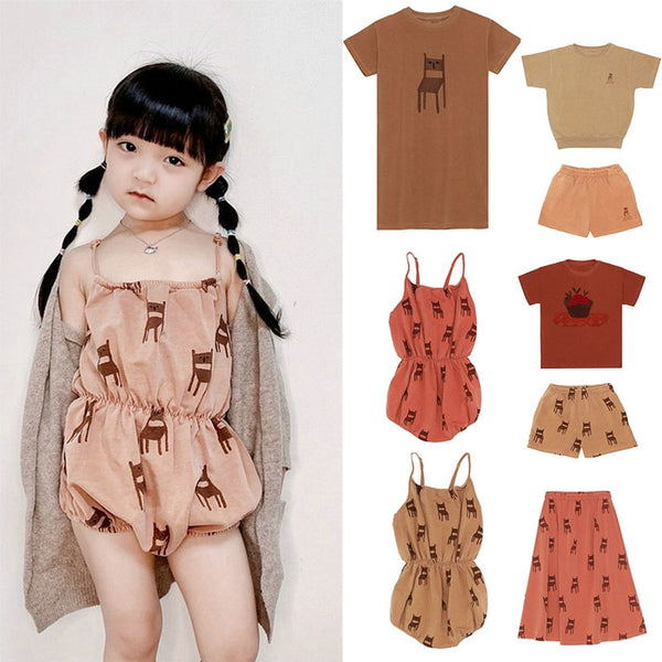 High Quality Brand Children Vintage Dresses