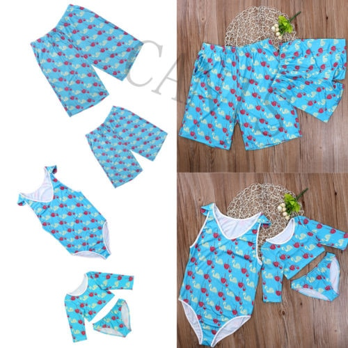 Boy Girl Pair Bikini Beach Party Swimwear