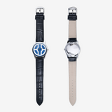 Dimecoin Signature Logo Wrist Watch with Quartz Movement