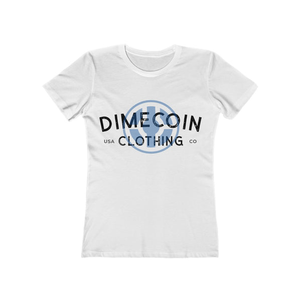 Dimecoin Clothing Co Boyfriend Tee