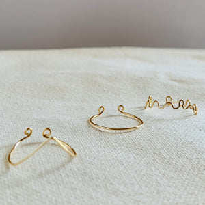 Wire Wrapped Ring - Stackables