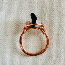 Load image into Gallery viewer, Wire Wrapped Ring - Copper Trio