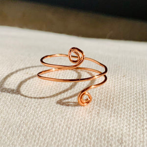 Wire Wrapped Ring - Twist