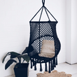 Large hanging chair - black - bohemian ✓ mom ✓ boho house
