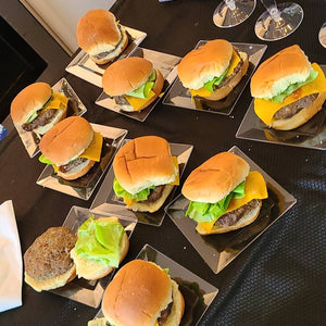 Sweet n Tangy Cheeseburger Sliders