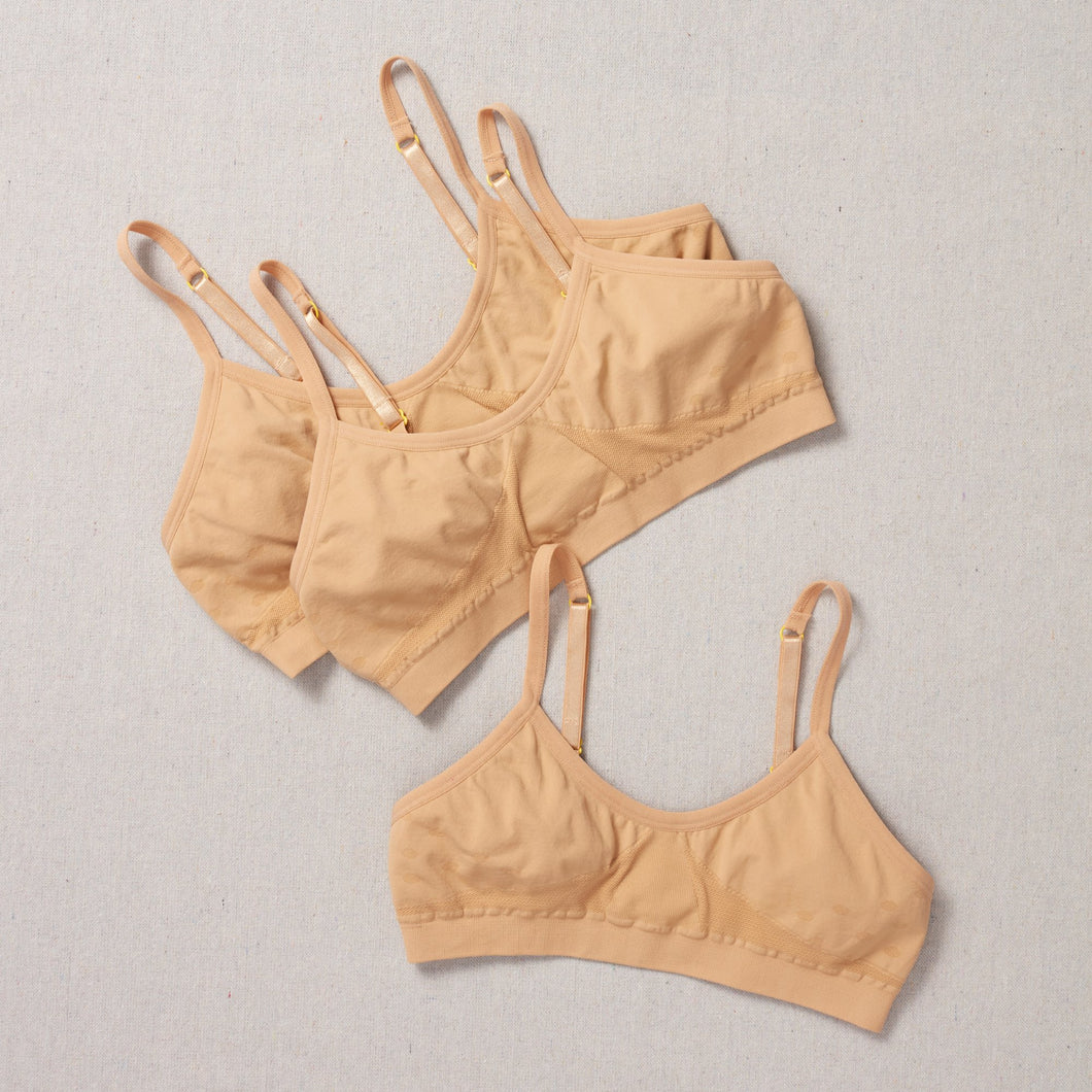 Chickadee Seamless Bra Bundle of Three Basics Collection