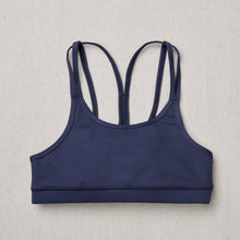 Load image into Gallery viewer, NEW Star Bra in Moonbeam (Navy Blue) Front Side