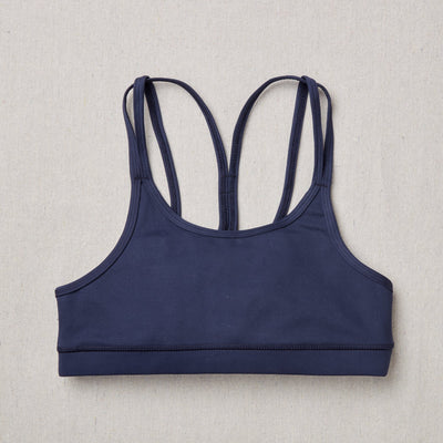 NEW Star Bra in Moonbeam (Navy Blue) Front Side
