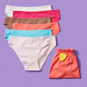 Simple Pima Cotton Undie Bundle of Six