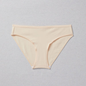 Front of Simple Pima Cotton Undie - Seamless underwear for Girls in Kit (nude color)