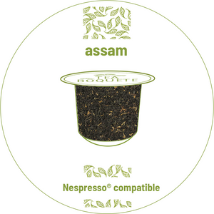 Assam tea pods for nespresso brewers originalline compatible