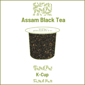 Assam black tea  pods for Keurig brewers K-Cup compatible capsules