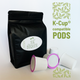 White Peppermint tea  pods for Keurig brewers K-Cup compatible capsules