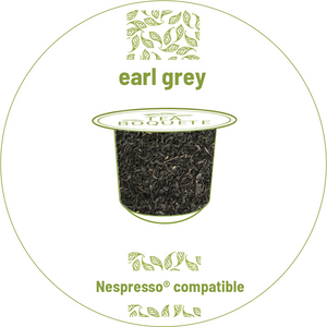 Earl grey tea pods for nespresso brewers originalline compatible