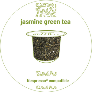 Jasmine green tea pods for nespresso brewers originalline compatible