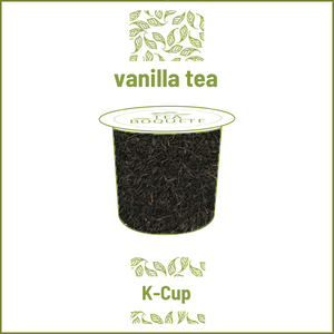 K-Cup tea pods Vanilla black tea pods K-Cup compatible  Tea Boquete