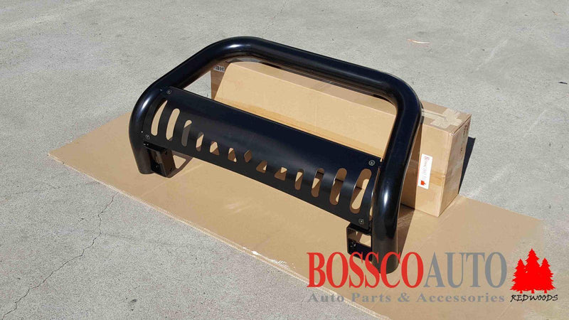 Black Nudge Bar suitable for Mitsubishi Triton ML/MN 2006-2015 - Vehicle Safe