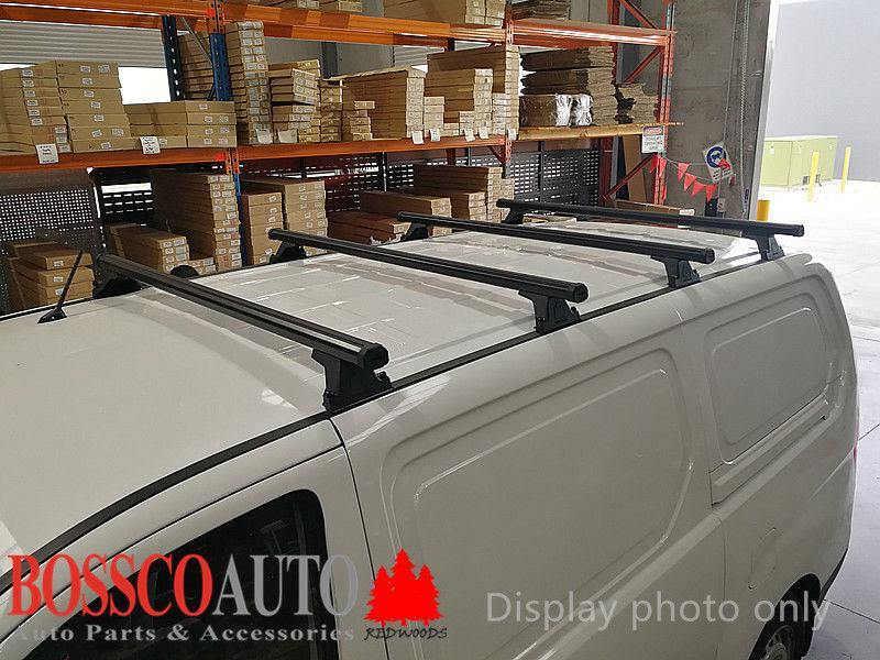 Set of 4 Heavy Duty Roof Racks for Renault Master X62 Van 2010-2020 - Vehicle Safe