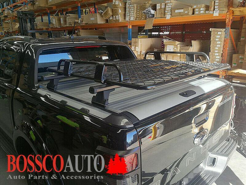 Rear Cargo Roller Tracks Racks and Baskets Suitable for Ford Ranger Wildtrak 2012-2020 - Vehicle Safe