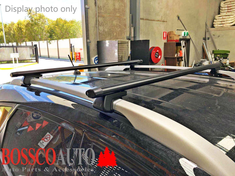 Black Roof Racks suitable for Holden Captiva / Cruze (Wagon and SUV) - Vehicle Safe
