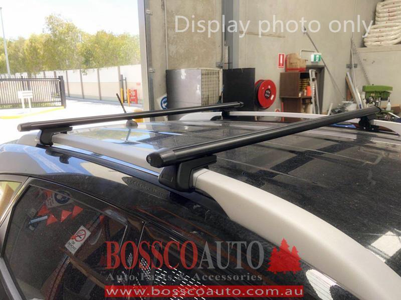 Black Roof Racks suitable for Holden Cruze Wagon JH 2 Series 2012-2017 - Vehicle Safe