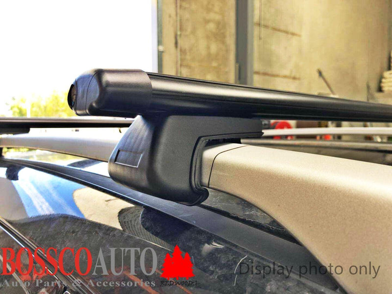 Black Roof Racks suitable for Subaru Outback 1996-03 - Vehicle Safe
