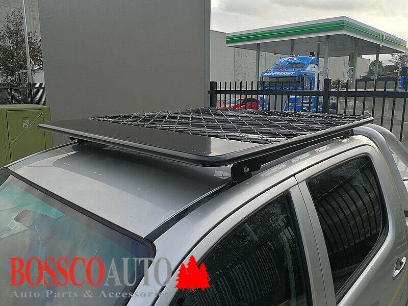 Roof Tradesman / Roof Basket (Flat) suitable for Toyota Hilux 2005-2014 - Vehicle Safe