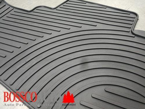 All Weather Rubber Floor Mats suitable for Nissan X-Trail 2014-2020 - Vehicle Safe