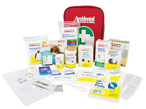 Deluxe Personal First Aid Kit - Vehicle Safe