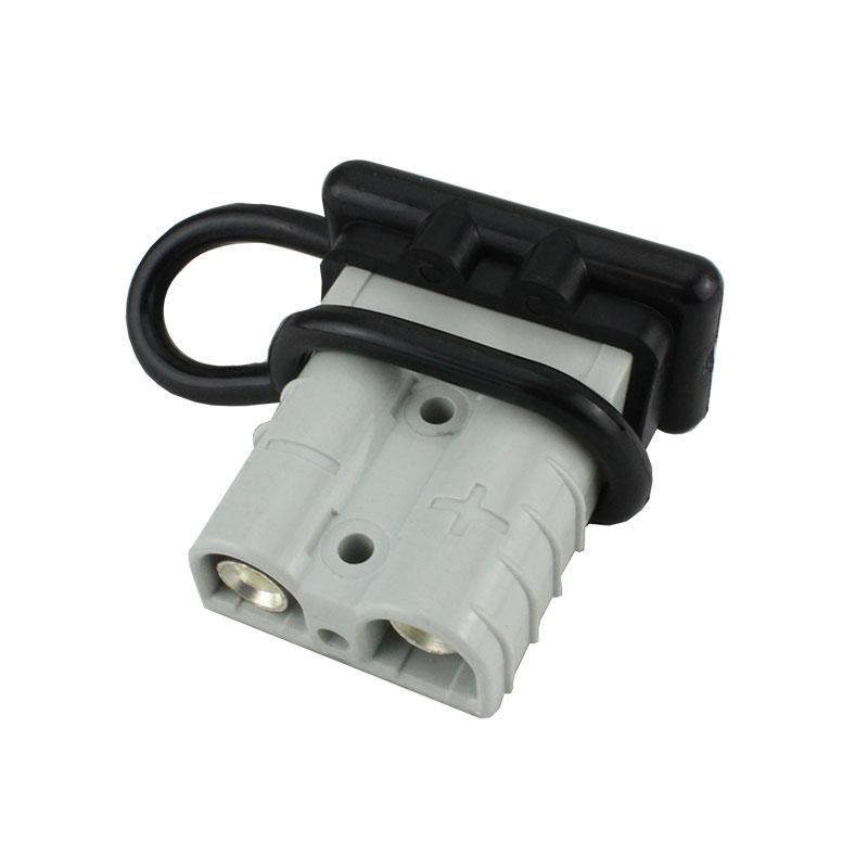 Anderson Plug Cap 50 AMP - Black - Vehicle Safe
