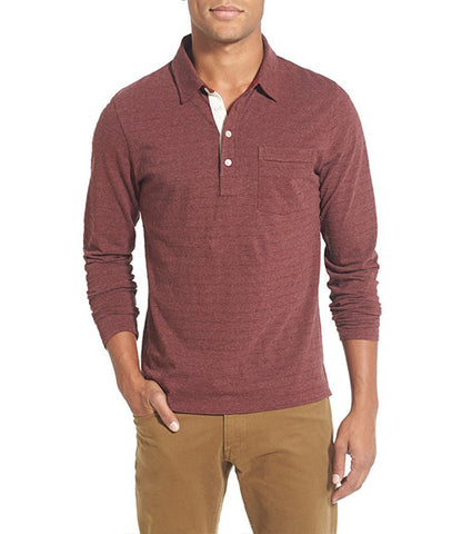 Billy Reid L/S Pensacolo Polo