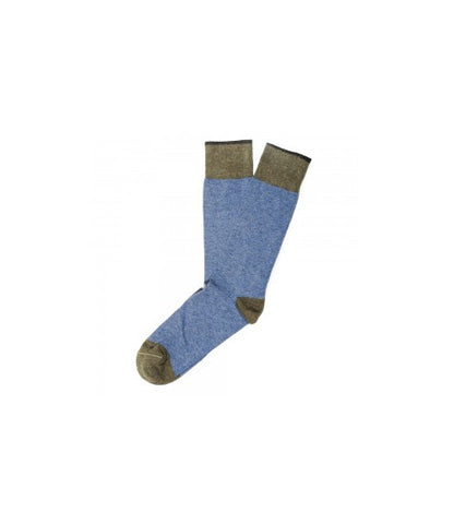 Etiquette Tri-Pop Blue Socks
