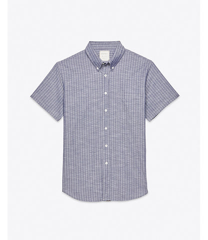 Billy Reid Indigo Tuscumbia Shirt