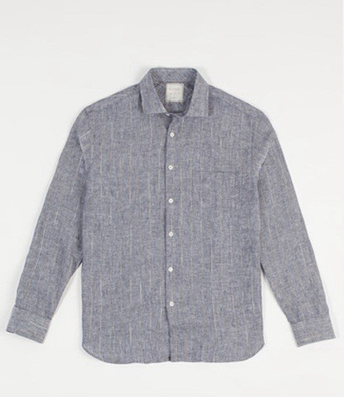 Billy Reid John T Shirt Chambray