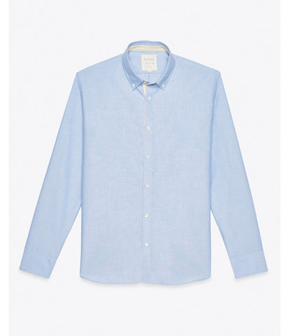 Billy Reid Oxford Shirt Lt Blue